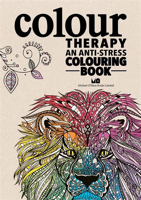 color therapy an anti stress coloring book hardcover 17 best images about coloring pages on