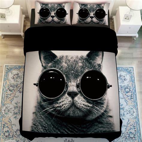 Modern Duvet Cover King Cat Bedding