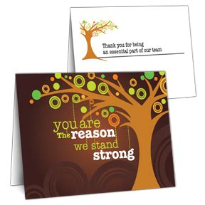 employee thank you card template employee appreciation cards