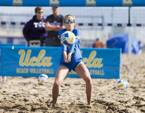 beach volleyball defeats pepperdine    face  top
