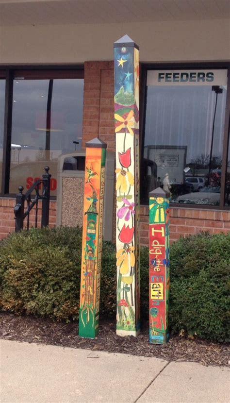 34 Best Peace Poles Images On Pinterest Garden Art