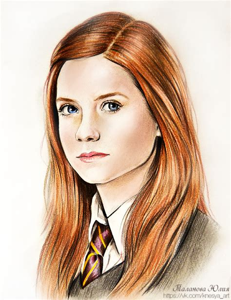 hermione granger ginny weasley ginny weasley harry potter by knesya27 on deviantart