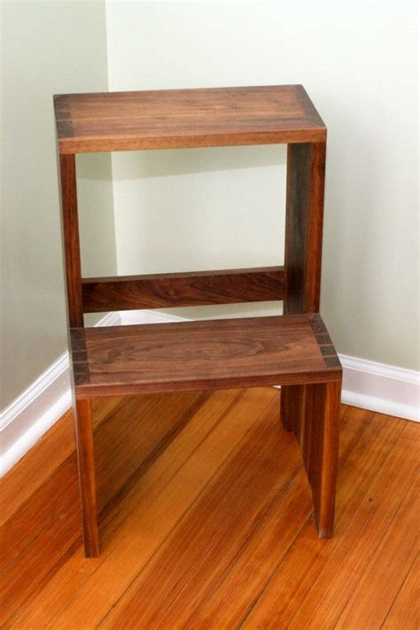 Shaker Step Stool by Shaker Style Step Stool Plans Woodworking Projects Plans