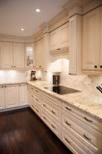 Kitchen Backsplash Toronto Tumbled Marble Backsplash Traditional Toronto With