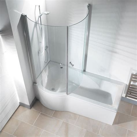 Modern Bath And Shower Combo by Galaxia Right Standard Bath And Panel Premier Modern Bathtubs