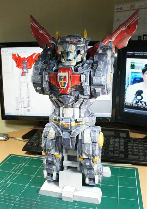 gwi jang s papercraft re sentinel voltron