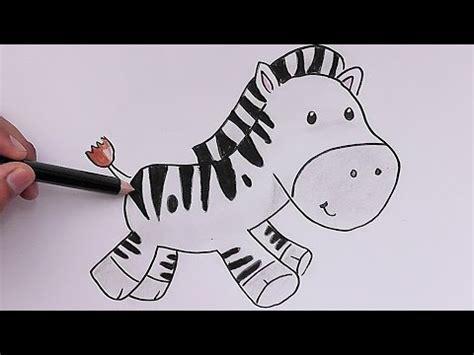 imagenes de cebras para dibujar faciles dibujando y coloreando cebra beb 233 drawing and coloring
