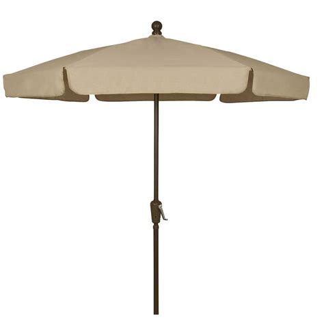 Home Depot Patio Umbrellas Picnic Time 5 5 Ft Patio Umbrella In Navy 822 00