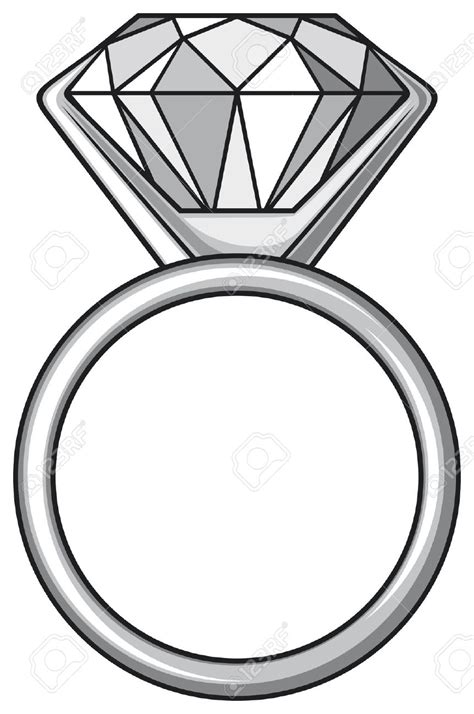 Engagement Wedding Clipart Free by Gems Clipart Engagement Ring Pencil And In Color Gems