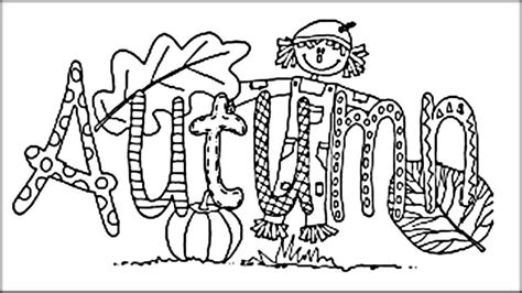 autumn coloring pages for kindergarten autumn coloring pages color zini