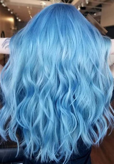 bright hair color ideas 31 gorgeous bright blue hair color ideas for 2018 modeshack