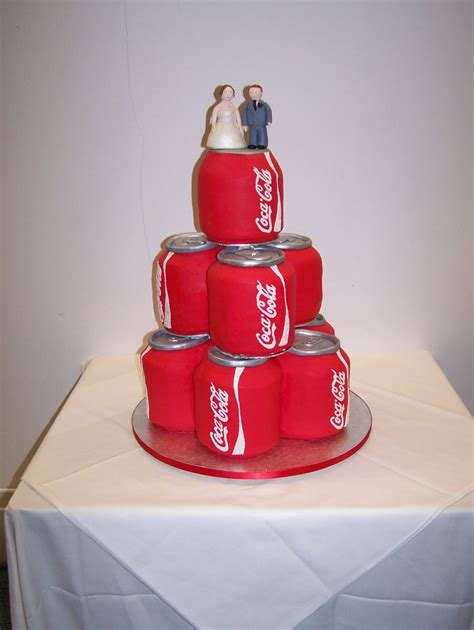 Wedding Cake Drink by Drinks Can Wedding Cake Cakecentral