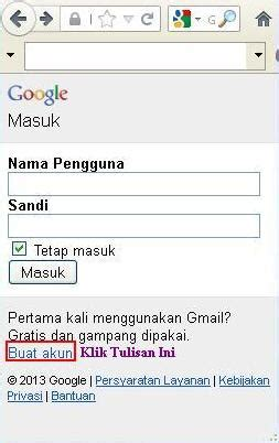 membuat email via operamini cara daftar email di gmail lewat hp download tips trik