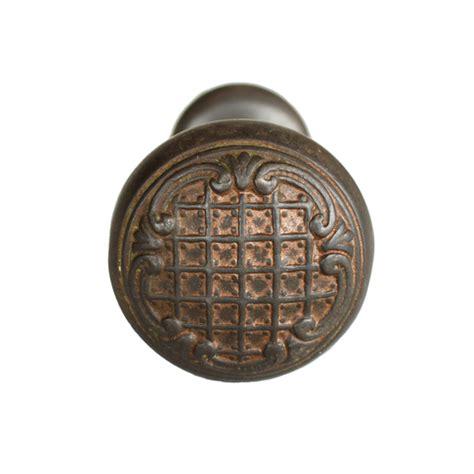 sargent cast iron door knobs pair mills