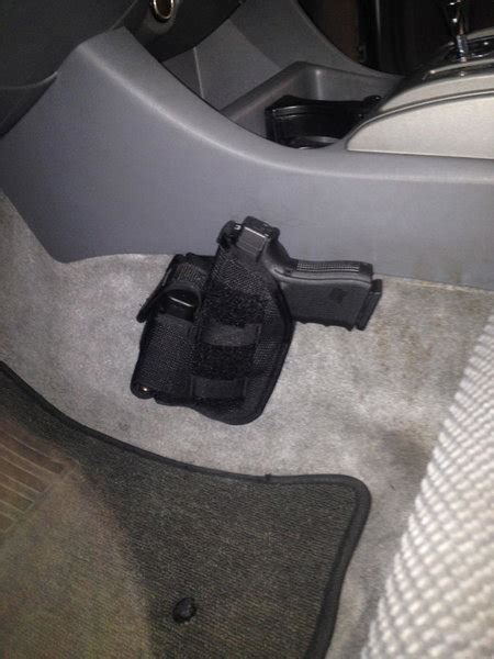 Steering Wheel Holster Gun Holster Write Up No Drilling Tacoma World