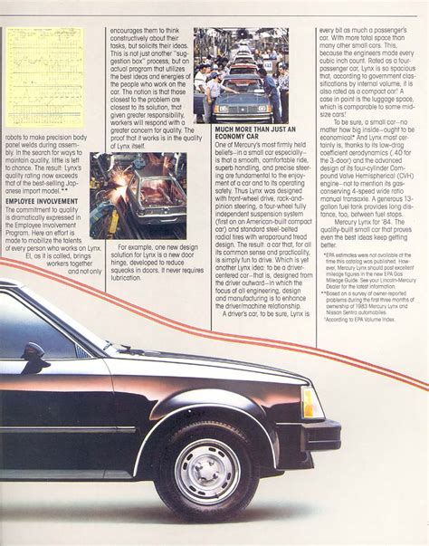 electronic throttle control 1985 mercury lynx head up display service manual where to buy car manuals 1984 mercury lynx electronic throttle control