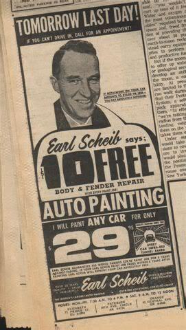 earl scheib advertising slogan im earl scheib