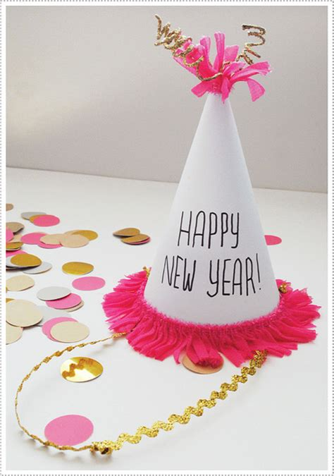 new year craft new year s crafts hats crafts