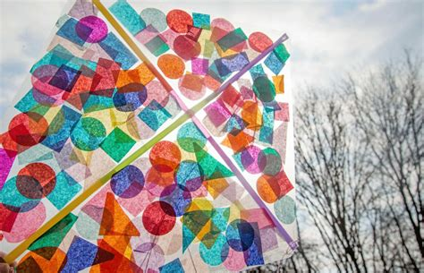 A Kite Out Of Paper - contact paper confetti kite parentsavvy