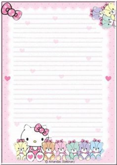hello kitty stationery printable 1000 images about clip art grandkids kids stationary
