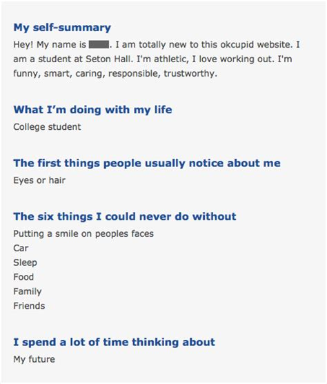 plenty of fish profile template why smart guys learn the for dating menaskem