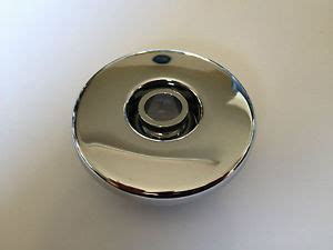 whirlpool bath jet cover in chrome ebay