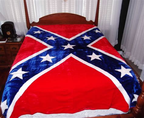 rebel flag bed set confederate bedding blankets comforters sheets etc
