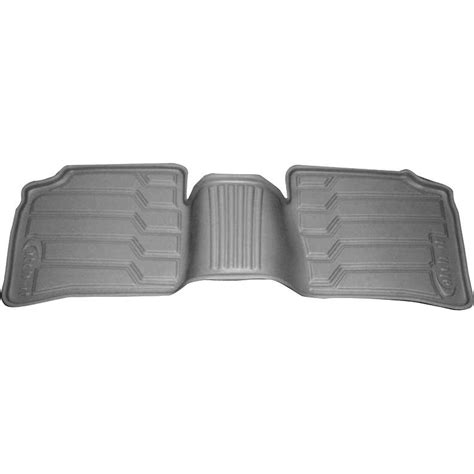 new nifty products floor mats rear gray for toyota prius
