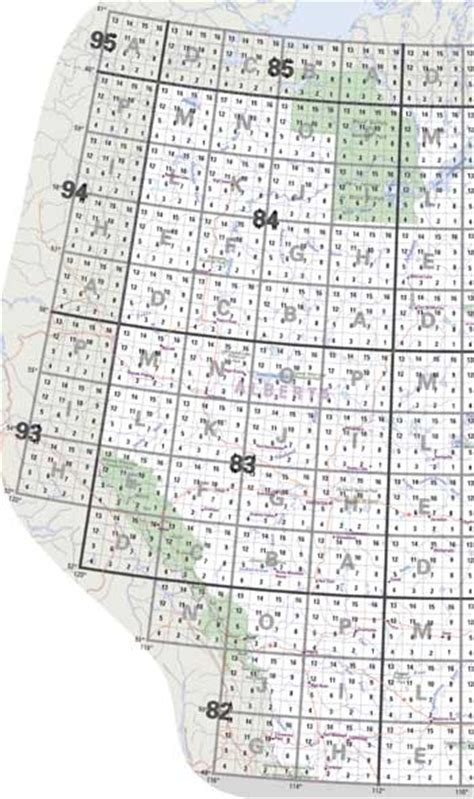 canadian map grid system alberta topo maps nts topographical maps for alberta buy