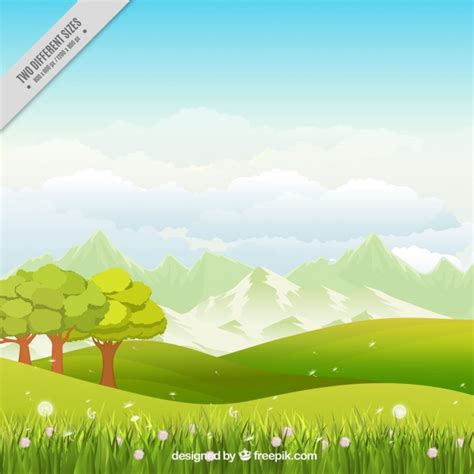 Landscape Vector Landscape Vectors Photos And Psd Files Free