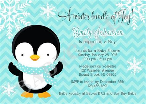 penguin baby shower theme 26 best images about boy baby shower on jungle