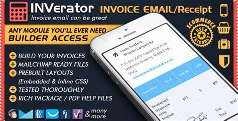 mailchimp receipt template invoice template receipt ecommerce email marketing