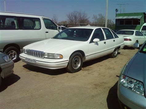 how cars run 1994 chevrolet caprice electronic valve timing 1994 chevrolet caprice pics 5 0 gasoline fr or rr automatic for sale