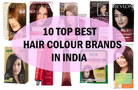 best hair dye brands 2015 top 10 best hair color brands in india makeupera of hair