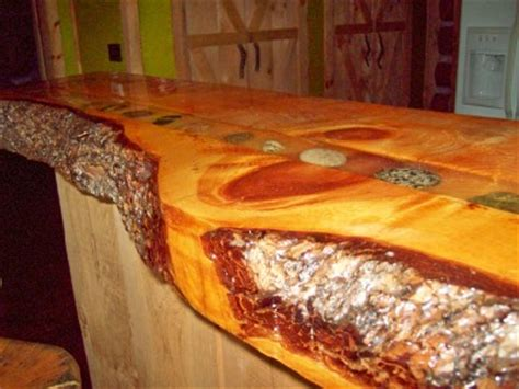 log bar tops counter top for log cabin kitchen home design and decor