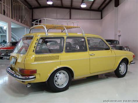 classic volkswagen station wagon 1973 volkswagen 412 station wagon daniel schmitt company