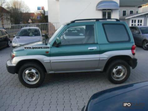 old car manuals online 1999 mitsubishi pajero security system 1999 mitsubishi pajero pinin air car photo and specs