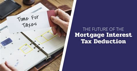 mortgage interest tax deduction why the future is unclear