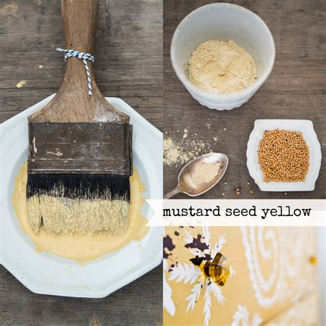color stories mustard seed yellow miss mustard seeds milk paint