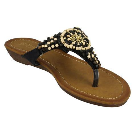 beaded shoes beaded toe post sandals ebay
