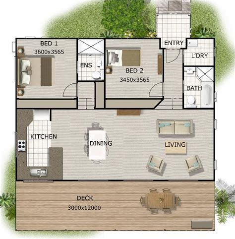 granny flat plans australian granny flat 2 bedroom cottage plans granny