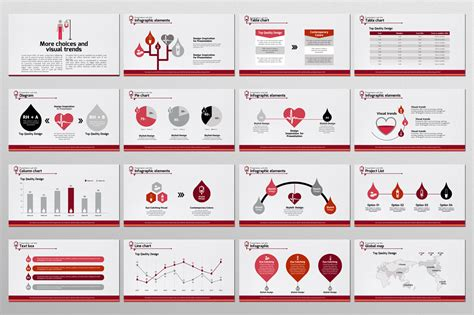 powerpoint layout zusammenführen blood donation ppt by goodpello design bundles