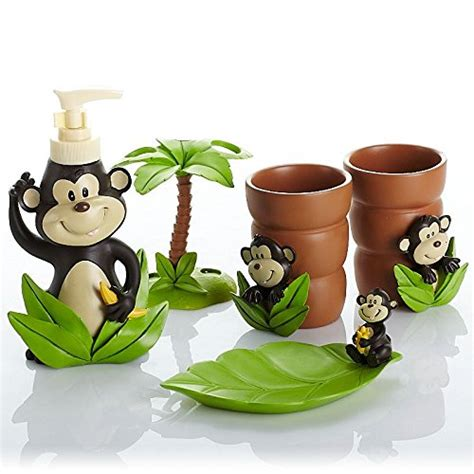 Monkey Bathroom Accessories Adorable Accessories For Bathroom Home Designing