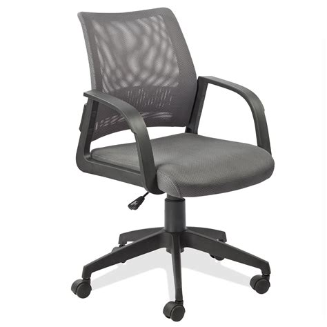 back chair while leick gray mesh back office chair kitchen