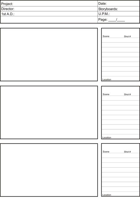 storyboard template word storyboards 14183840lm