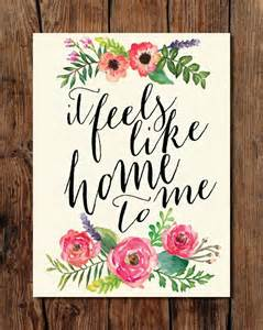 it feels homey 25 unique watercolor hand lettering ideas on pinterest
