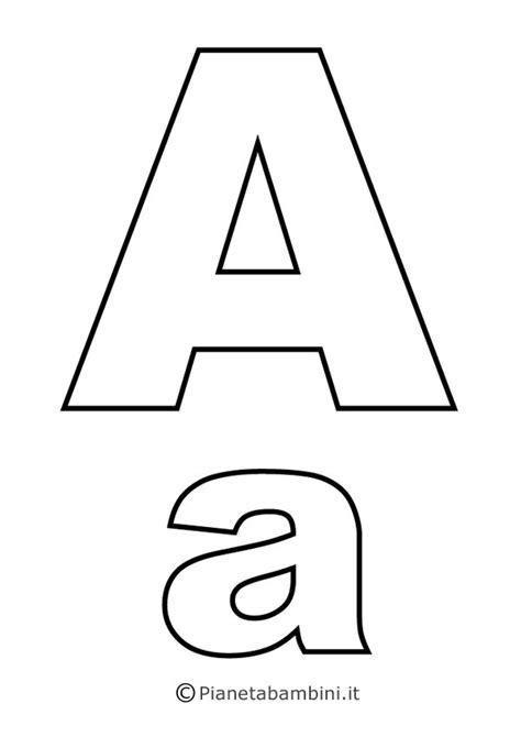 sagome lettere da ritagliare lettere dell alfabeto da stare colorare e ritagliare