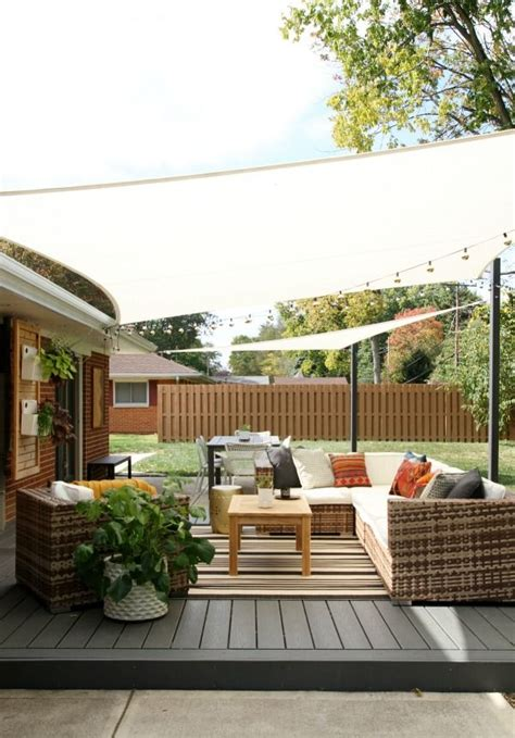 diy decks and patios 25 best ideas about patio shade on outdoor