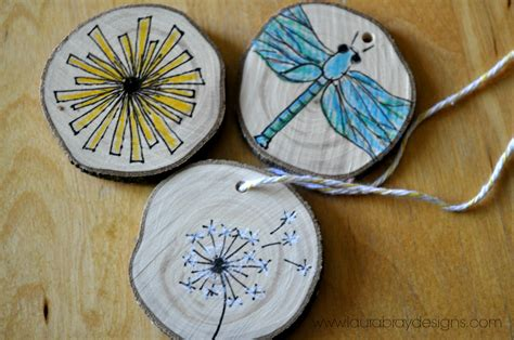 Handmade Wood Ornaments - wood ornaments k bray designs