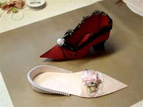 Make Paper Shoes - paper shoe tutorial pt 1
